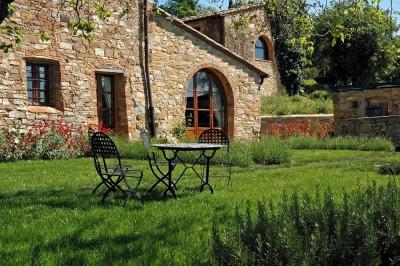 Weingut Toskana Ferienwohnung | Sale Gartenbereich