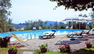Weingut Toskana Ferienwohnung | Pool