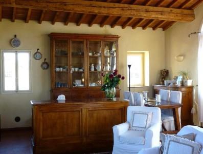 Toskana Ferienwohnung Florenz - Wohn-Kuechenbereich