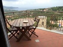 Capoliveri Ferienwohnung | Mansardina Terrasse