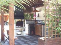 Villa Marina | Ferienhaus Elba Capoliveri | Veranda mit Aussenkueche