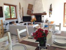 Villa Marina | Ferienhaus Elba mit Pool | Wohnbereich mit Kamin