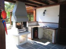 Villa Marina | Ferienhaus Elba mit Pool | Aussenkueche Veranda