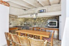 Villa Jasmina | Elba Ferienhaus am Meer | Aussenkueche