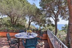 Villa Jasmina | Ferienhaus Insel Elba am Meer | Veranda mit Meerblick