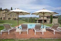 Villa Macinelle | Ferienhaus Toskana beheizter Pool