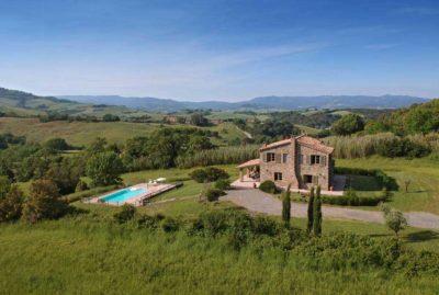 Villa Casale | Ferienhaus Toskana Pool am Meer