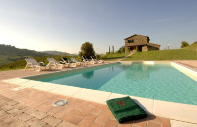 Villa Gigliano | Ferienhaus Toskana Privat-Pool an der Etruskerkueste