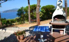 Le Terrazze | Barbecue im Garten | Ferienwohnung Elba am Meer