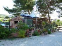 Ferienwohnung Elba Lacona | Überdachte Gartenküche