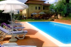 Toskana Ferienhaus Alessandra - Pool