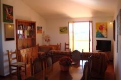 Toskana Ferienhaus Alessandra - Wohnbereich Mansarde