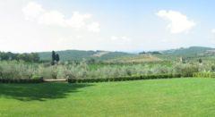 Ferienwohnung Weingut Toscana | Garten der Villa